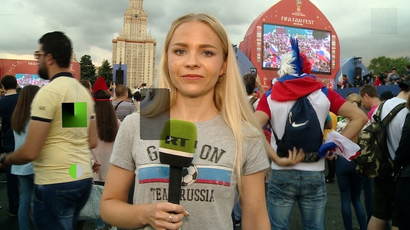 Nach WM Viertelfinale gegen Kroatien Russische Fans bedanken sich bei ihrer Nationalelf
