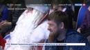 Новости на Россия 24 • В преддверии Нового года жителей Чечни поздравил Дед Мороз из Великого Устюга