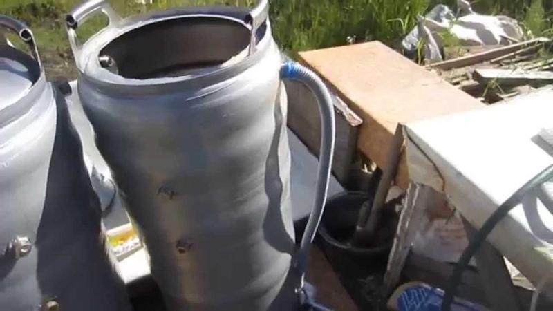 куб на 100 литров из двух кег