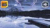 Шум Дождя с Громом и Звуками Ветра. 10 Часов Для Сна и Релакса