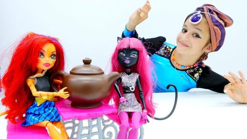 Видео с куклами Монстер Хай Торалей и три желания