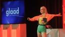 Pop sensation Kim Petras performs at the 2018 GLAAD Gala San Francisco