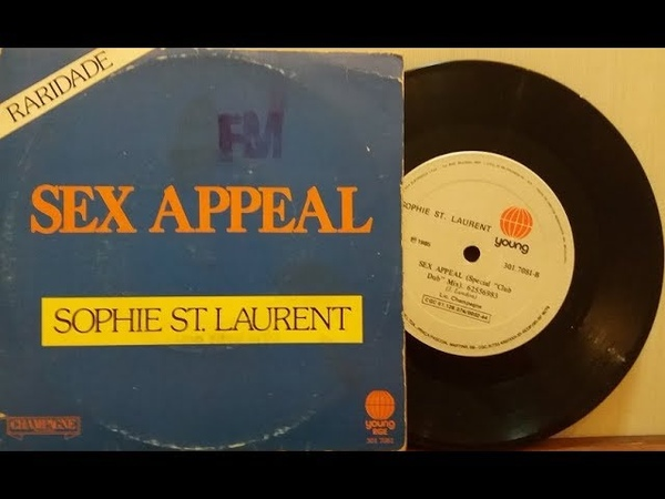 Sophie ST. Laurent - Sex Appeal - (Compacto Completo 1984) - Baú Musical