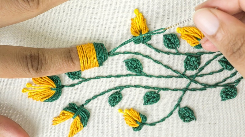 Amazing Hand Embroidery Learn Flower Ideas with Tricks