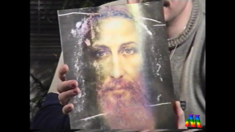 Николай Левашов демонстрирует лик Христа