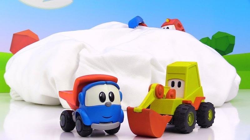 Vidéo pour enfants de Léo le camion et Skoop: levures pour gâteau