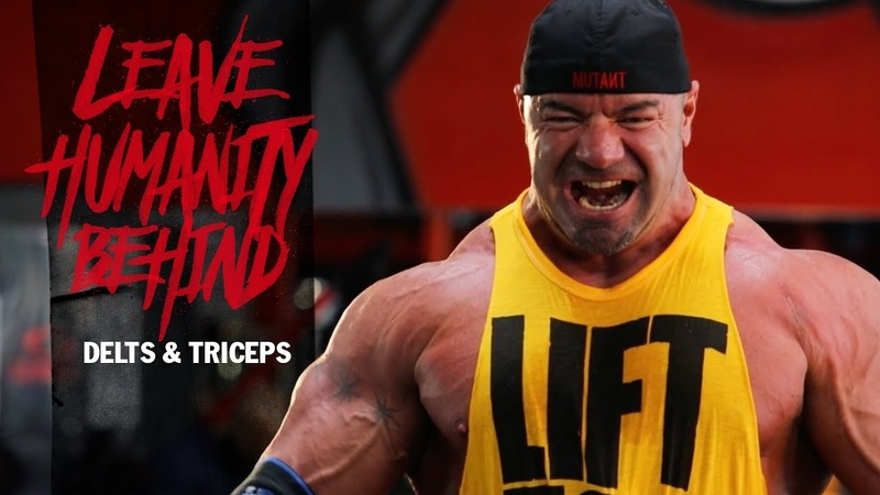 LHB - IFBB Pro Dusty Hanshaws OFF SEASON - EPISODE 1, DELTS TRIS