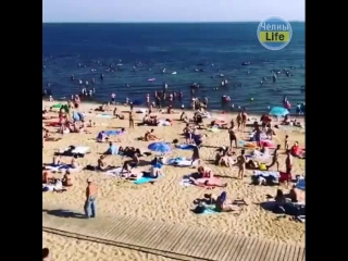 Крутой пляж в Татарстане.