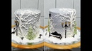 Торт ЗИМНИЙ НОВОГОДНИЙ от SWEET BEAUTY СЛАДКАЯ КРАСОТА NEW YEAR CAKE DECORATION
