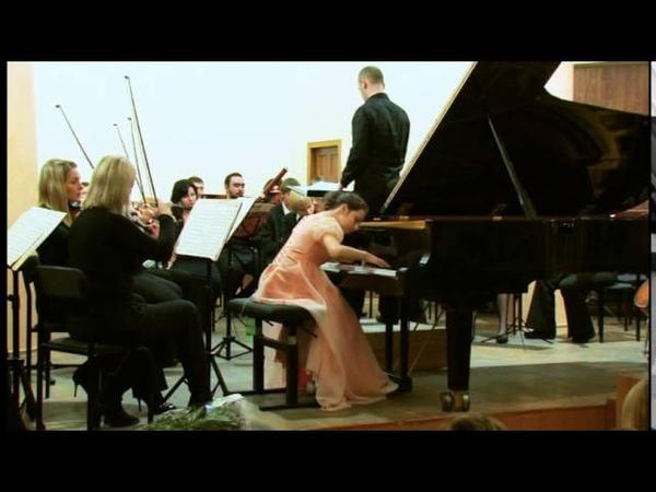 W.A. Mozart, Piano Concerto № 21 (II,III mov) Kateryna Kurylko