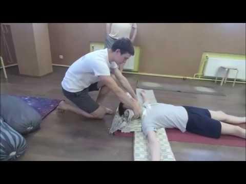 Запись семинара Алексея Наумкина по йоге Айенгара: шея и плечи.