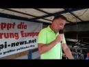 09.07.2018 Rede von Lutz Bachmann zur 4.Gewalt im Staat