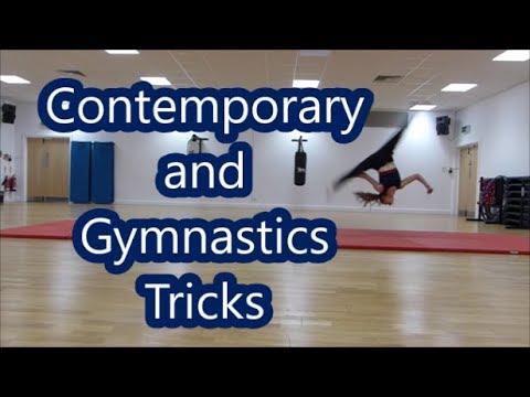 Contemporary and gymnastics tricks|| Hope Gemmell