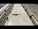 Воронежец сломал руку и ногу, попав в яму на ВоГРЭСовском мосту