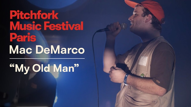 "Mac DeMarco | ""My Old Man"" | Pitchfork Music Festival Paris 2018 | PitchforkTV"