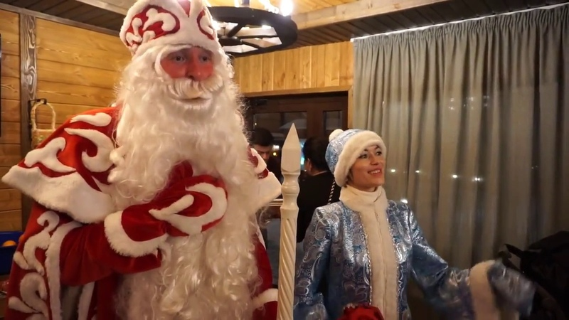 Дедушка Мороз и Снегурочка Казань Наши дед Мороз и Снегурочка в кафе ! 8-987-424-41-55