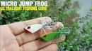 Making Ultralight Fishing Lure - Micro Jump Frog