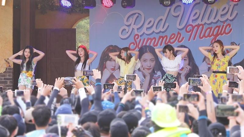 180812 레드벨벳 Red Velvet 빨간 맛 Red Flavor 캐리비안베이팬사인회 4K 직캠 by 비몽