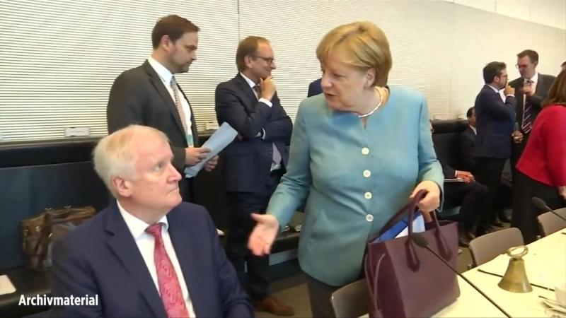 """Merkel lehnt Seehofers Asyl-""""Masterplan"""" ab -möchte- dass EU-Recht Vorrang hat vor nationalem Recht"""""""