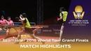 Mima Ito Hina Hayata vs Sun Yingsha Chen X 2018 ITTF World Tour Grand Finals Highlights Final