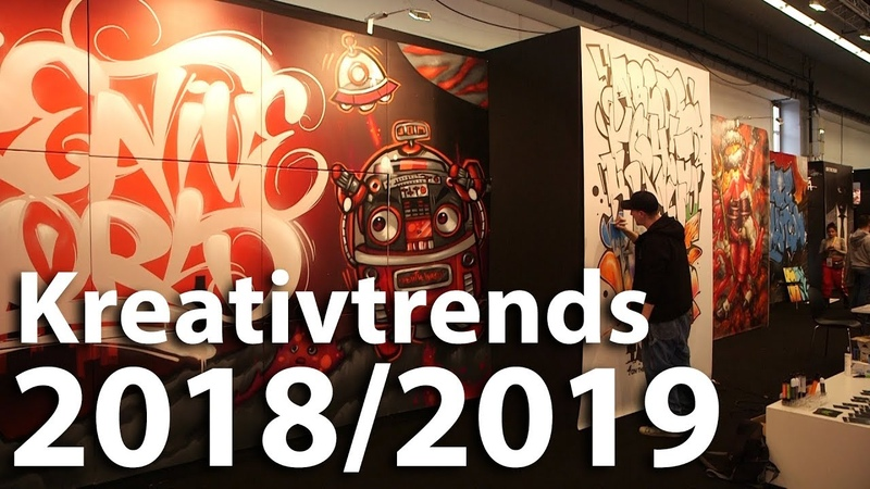 Kreativtrends 2018/2019, Basteltrends und DIY Tipps, creativeworld Frankfurt