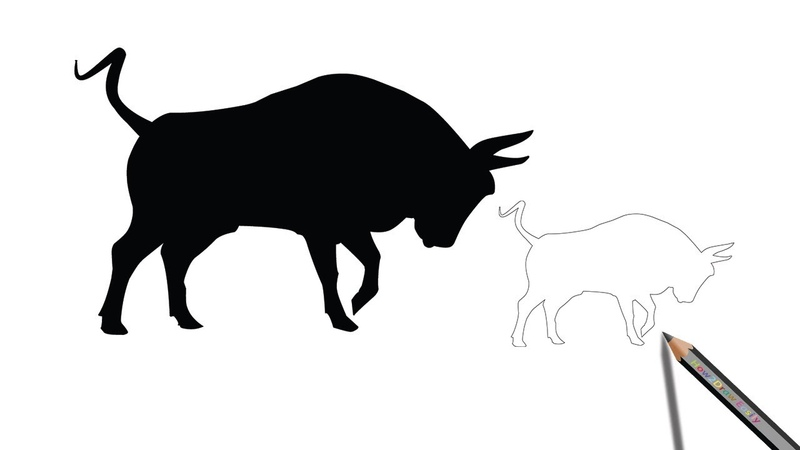 How to Draw a Bull Watch on YouTube m QGN8k6qY4
