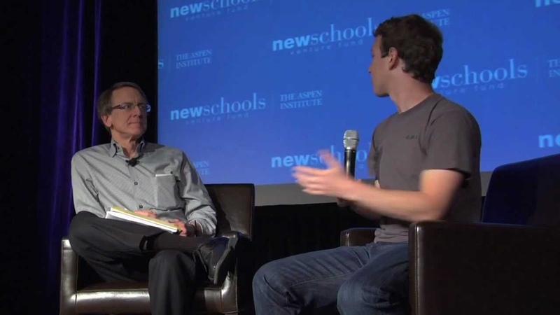 NewSchools Summit 2011 John Doerr and Mark Zuckerberg on innovation and education