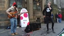 WOJTEK GASIOROVSKIDAVE CROWE SUPER MIX - bass guitar/beatbox Scotland Edinburgh FRINGE 2017