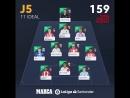 HAT TRICK MVP El delantero del @SevillaFC @WissBenYedder es el mejor jugador del XI ideal de @FantasyLaLiga en la jornada 5