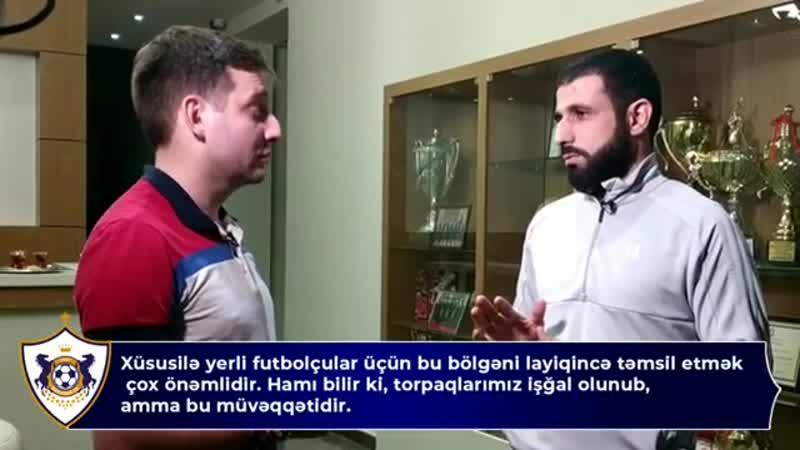 Рашад Садыхов рассказал «Матч ТВ» об армянской оккупации