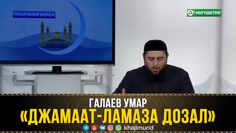 ГАЛАЕВ УМАР - «ДЖАМААТ-ЛАМАЗА ДОЗАЛ» 28.12.2017