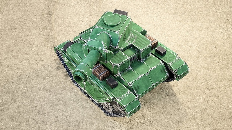 Creating Mini Tanks for a Mobile Game in Blender - Course Trailer