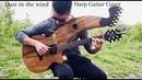 Dust in the Wind Kansas Harp Guitar Cover Jamie Dupuis
