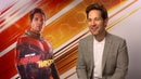 Paul Rudd Interview Speaks on Role in Marvel Sequel Ant Man and the Wasp