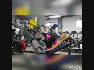 Фитнес-фанатка Татьяна Нагорных