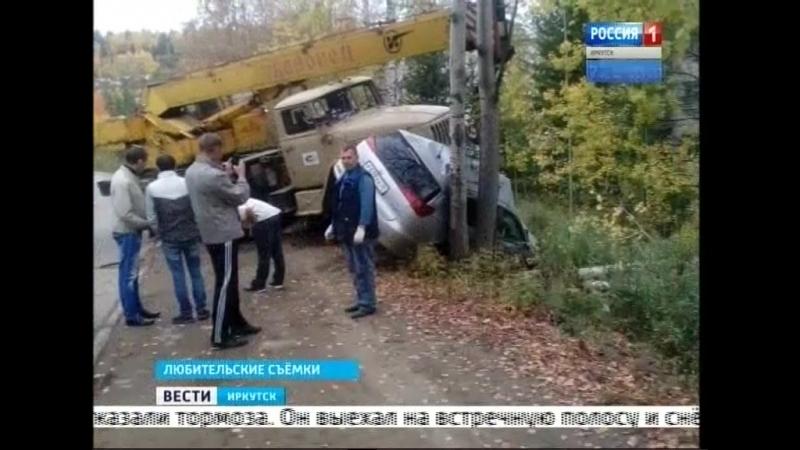 Многотонный «Урал» раздавил «Жигули» в Железногорске-Илимском. Водитель ВАЗа погиб