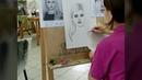 Портрет ,карандаш ..изостудия Галины Кущий