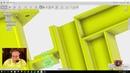 Jib Column Console Crane - Modeling and Stress Simulating