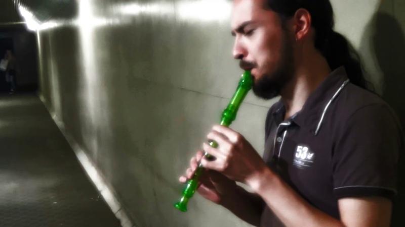 ФЛЕЙТА красивая игра на флейте Dimmu Gamburger Yurima cover