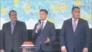 Трансляция запуска цифрового телевидения в Тверской области. Ведущие Тарас Кузьмин и Наталья Литовко.