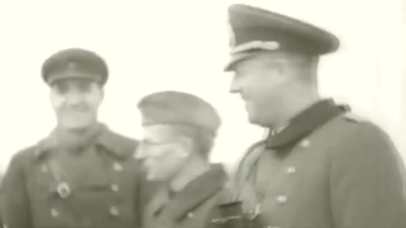 22 сентября 1939 г. Брест Совместный парад Вермахта и РККА