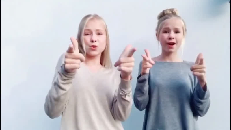 Iza and Elle Musical.ly