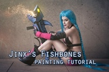 Fishbones painting tutorial