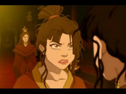 Клип Аватар: Легенда об Аанге Я сошла с ума Азула.