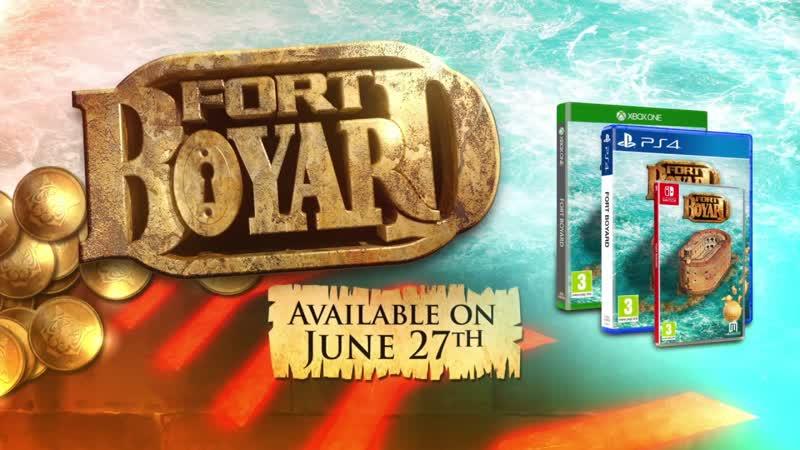 FORT BOYARD - Трейлер запуска
