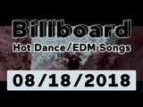 Billboard Top 50 Hot DanceElectronicEDM Songs + Top 10 Albums (August 18, 2018)