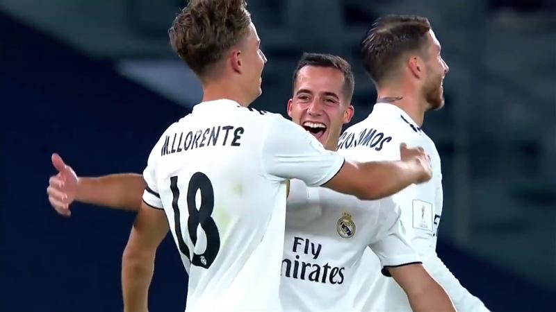Gol Llorente - Real Madrid 2 x 0 Al Ain - em HD (Mundial de Clubes 2018)