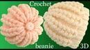 Gorro a Crochet punto trenzas mágicas 3D tejido paso a paso tallermanualperu