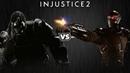Injustice 2 - Горилла Гродд против Дэдшота - Intros Clashes rus