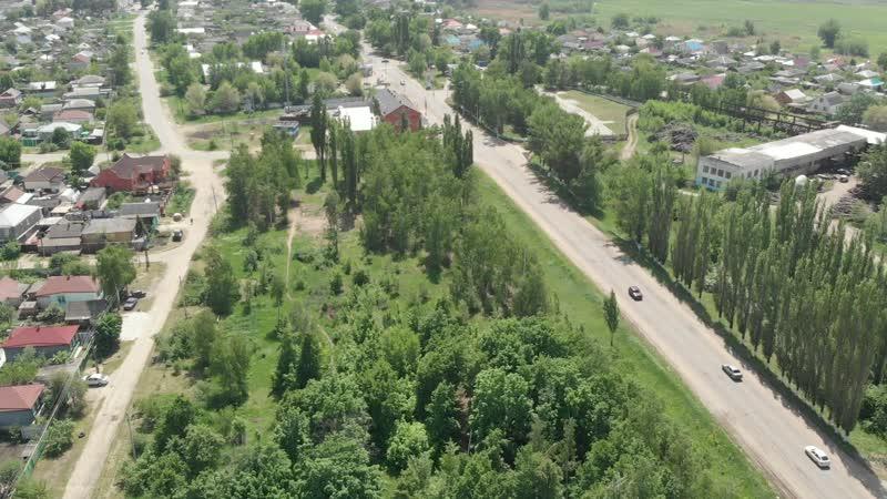 Парк который хотят спелить под лозунгом мнимого патриотизма г.Калач 16.05.2019